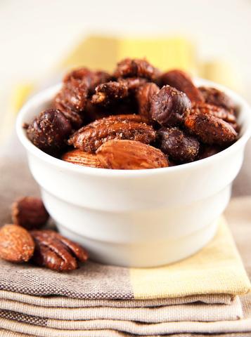 Garam Masala Roasted Nuts