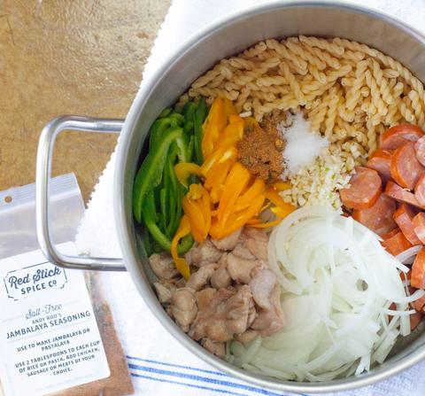 One-Pot, 15-Minute Pastalaya