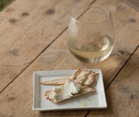 Balinese Peppered Goat Cheese