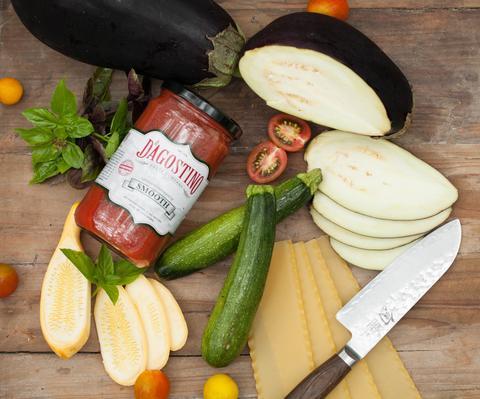 Roasted Summer Vegetable Lasagna