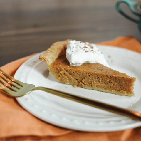 Ginger & Spice Sweet Potato Pie