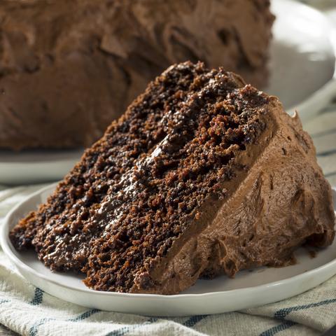 Salted Dark Chocolate Cake