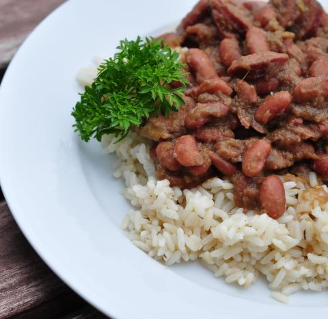 Smoky Instant Pot Red Beans & Rice