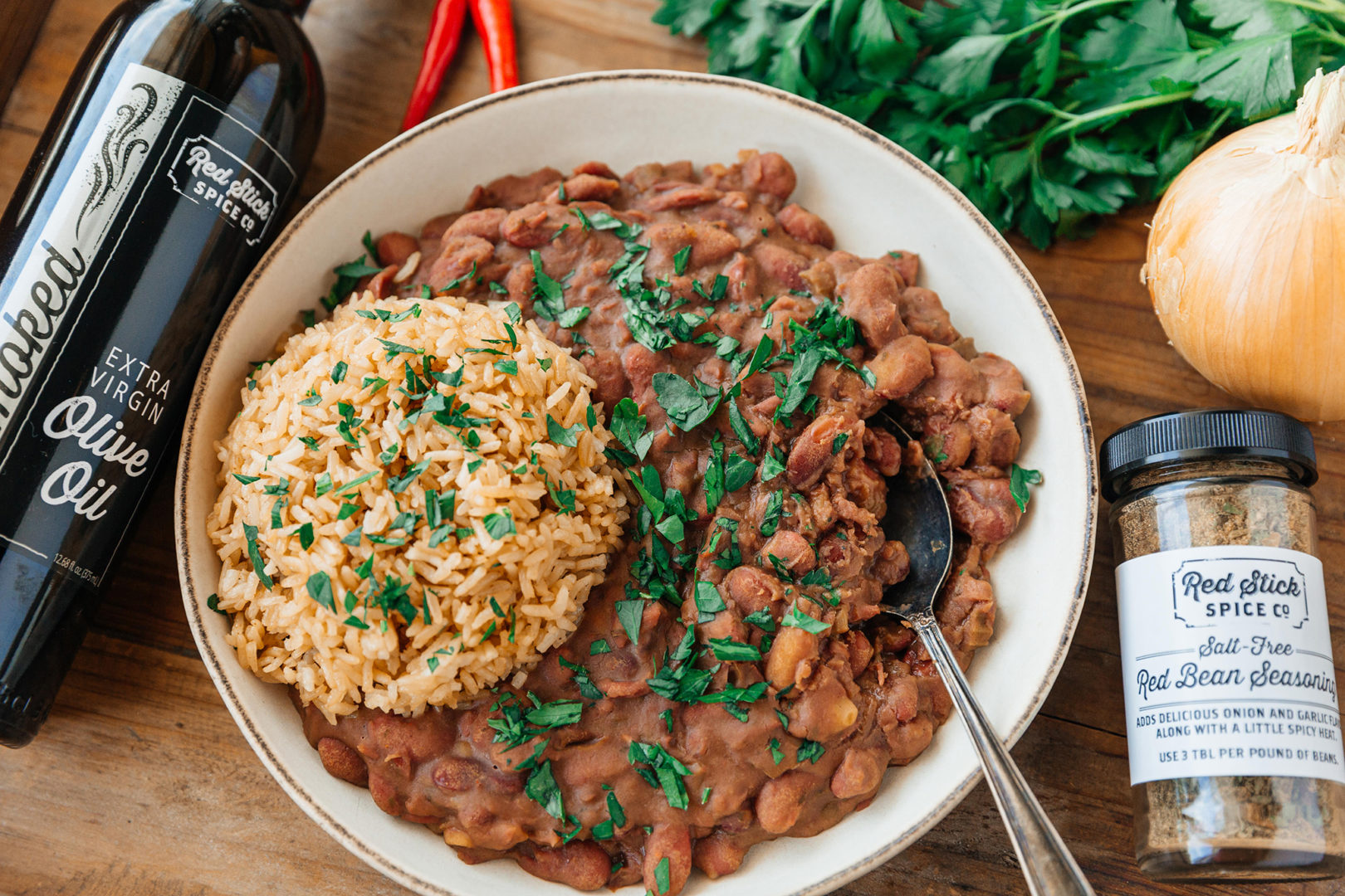 smokey instant pot red beans