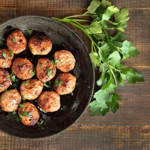 Sheet Pan Turkey Meatballs