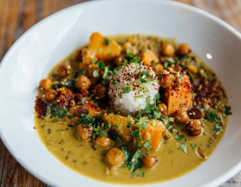 Sweet Potato Lentil Curry