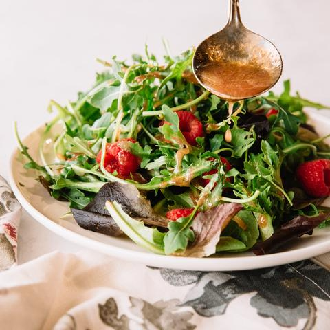 Spring Salad with Raspberry Patch Vinaigrette