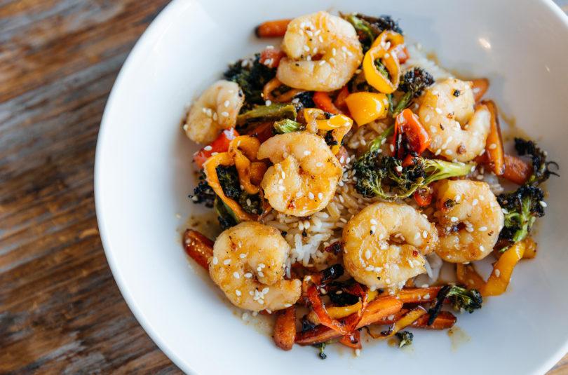 Sheet Pan Supper: Far East Shrimp Stir Fry