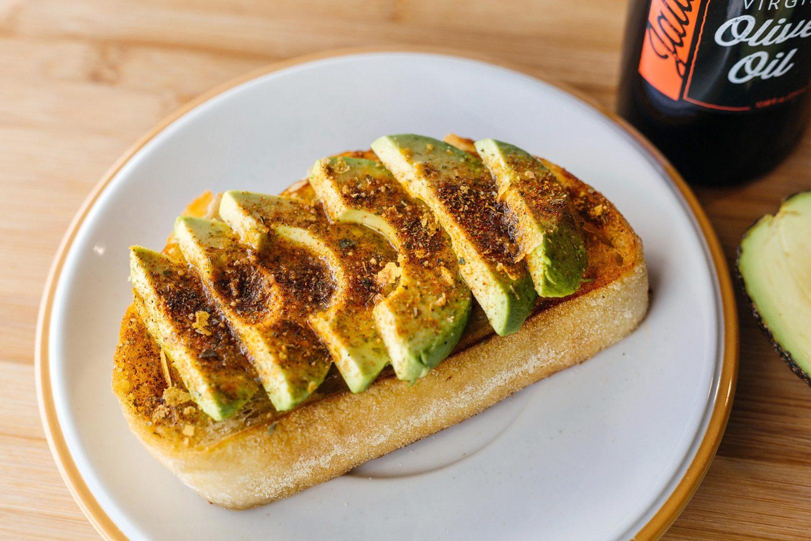 Spicy Snacktime Avocado Toast