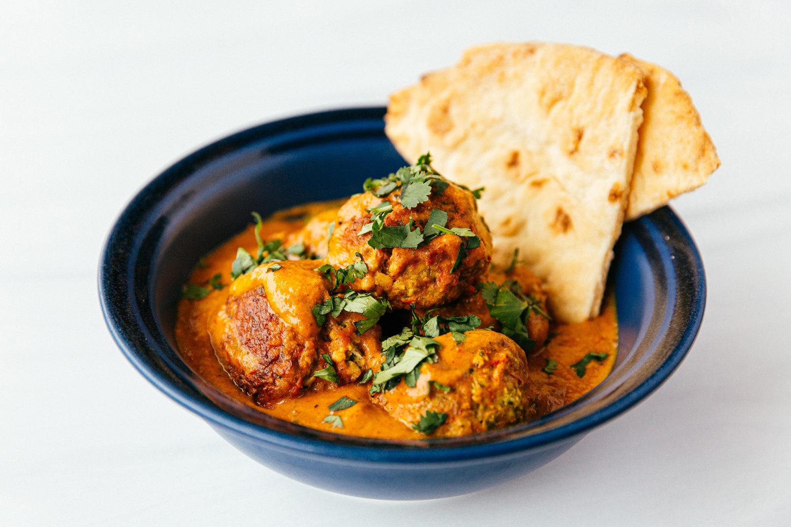 coconut curry meatball