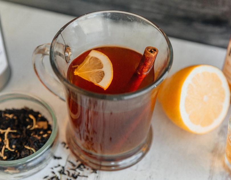 Hot Tea Toddy