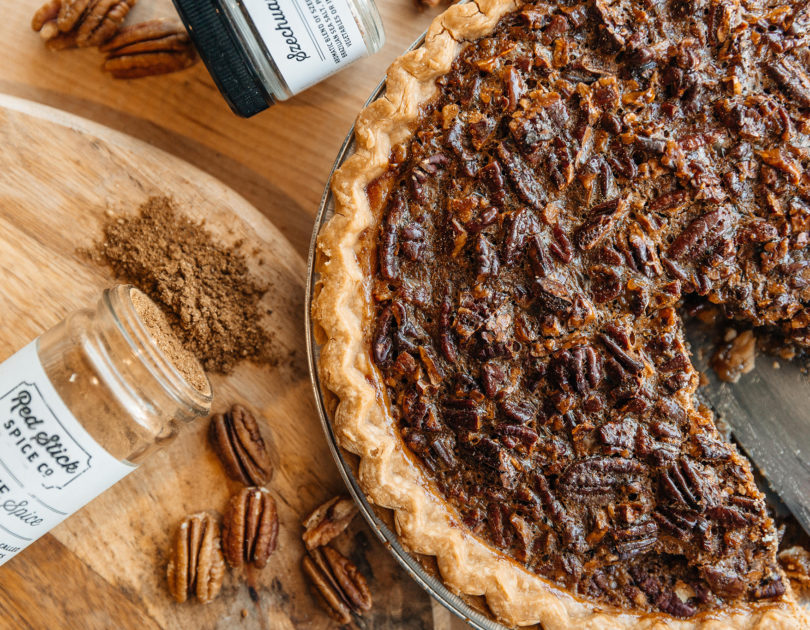 Chine Five Spice Pecan Pie