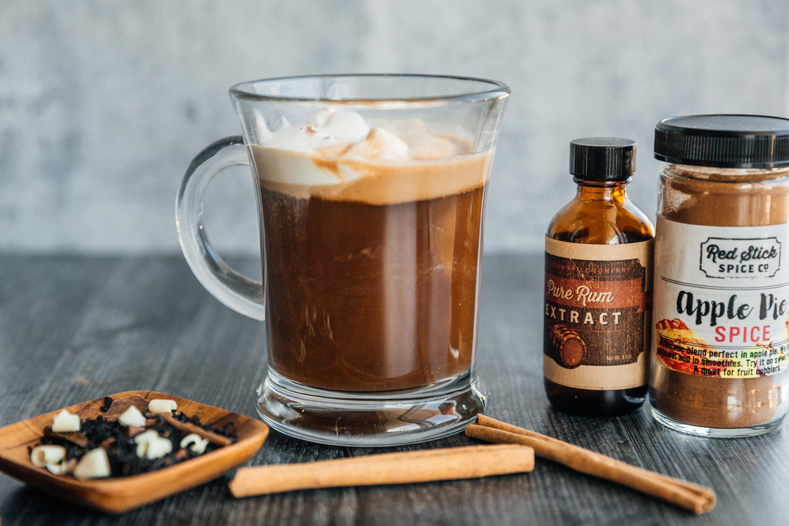 hot buttered rum toddy