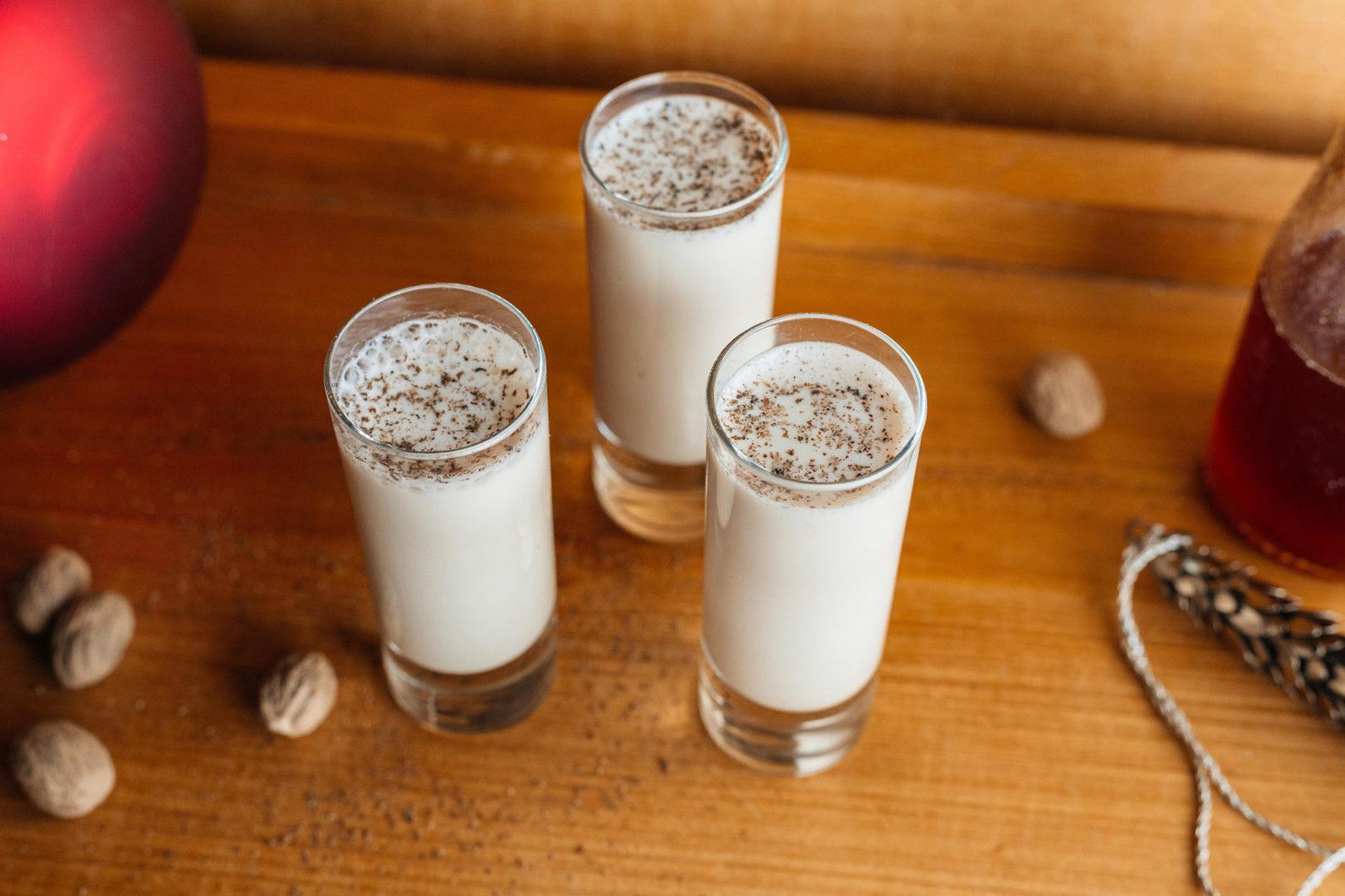 Rum Milk Punch