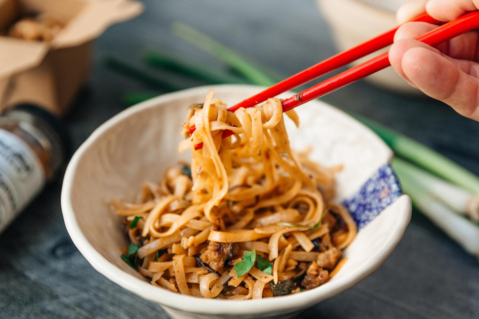 Quick Shanghai style noodles