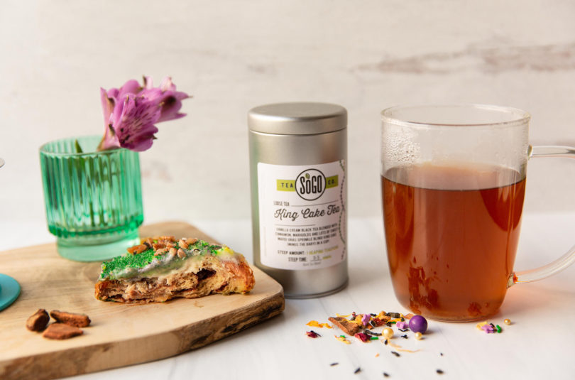 All About King Cake Tea