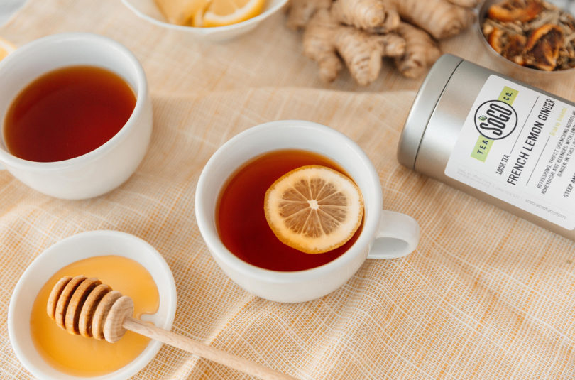 All About French Lemon Ginger Tea