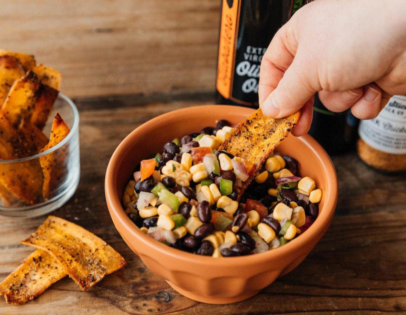 Habanero Lime Black Bean & Corn Salsa