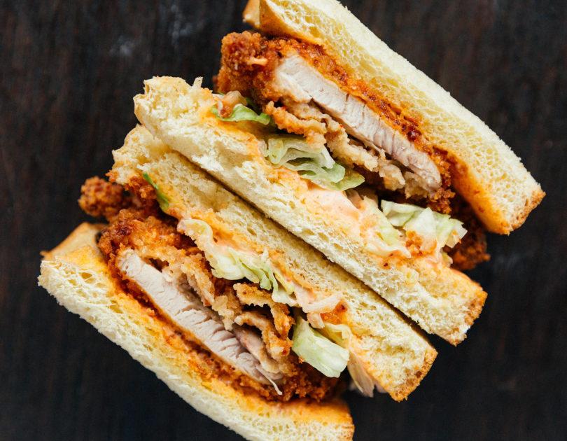 Casian Fusion Chicken Katsu Sandwiches