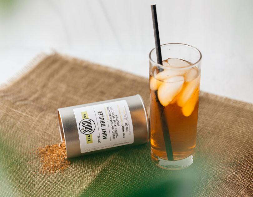 Mint Brulee Tea Spritzer