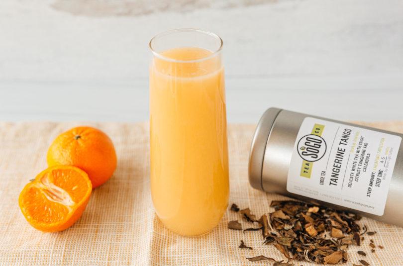 Tangerine Tango Mimosas