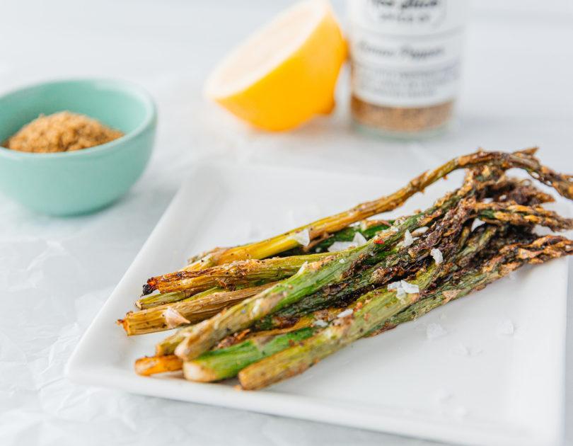 Lemon Pepper Air Fryer Asparagus