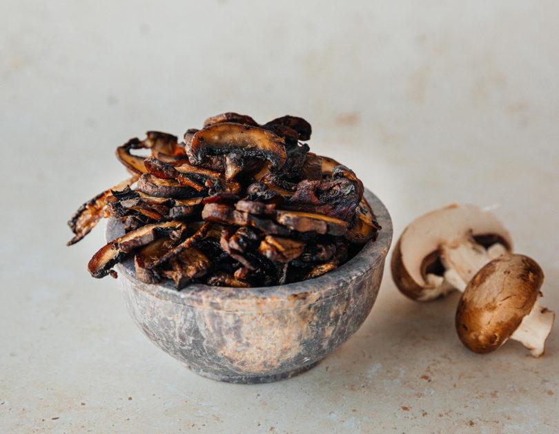 Oven Roasted Crispy Mushrooms