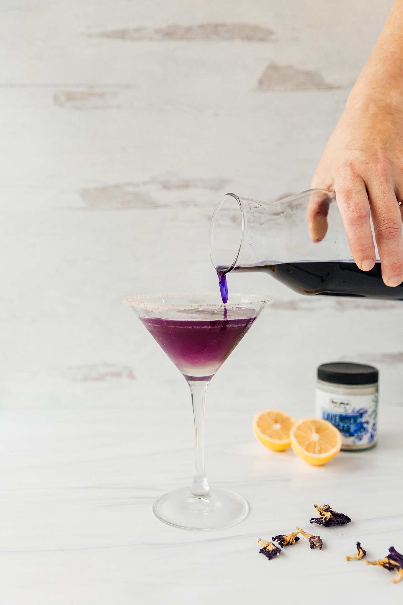 butterfly pea flower cocktail