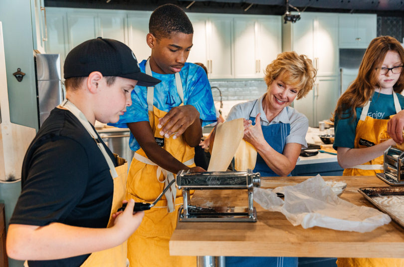 Teens In The Kitchen: a Three day Experience