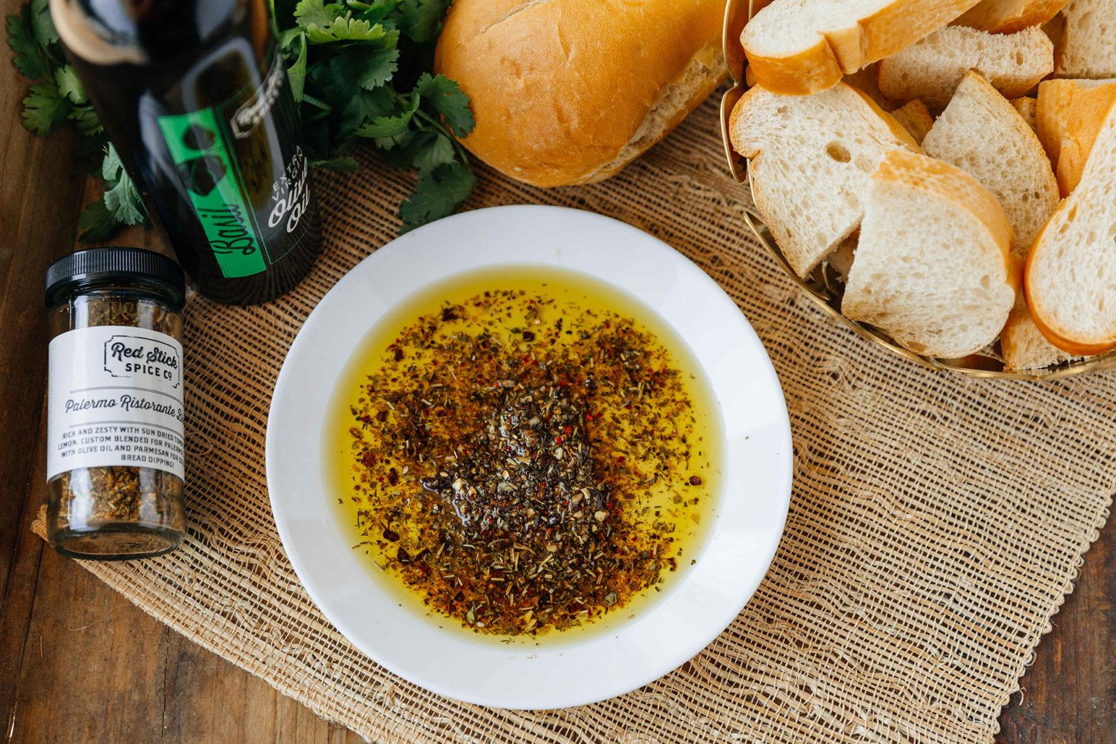 palermo olive oil bread dipper