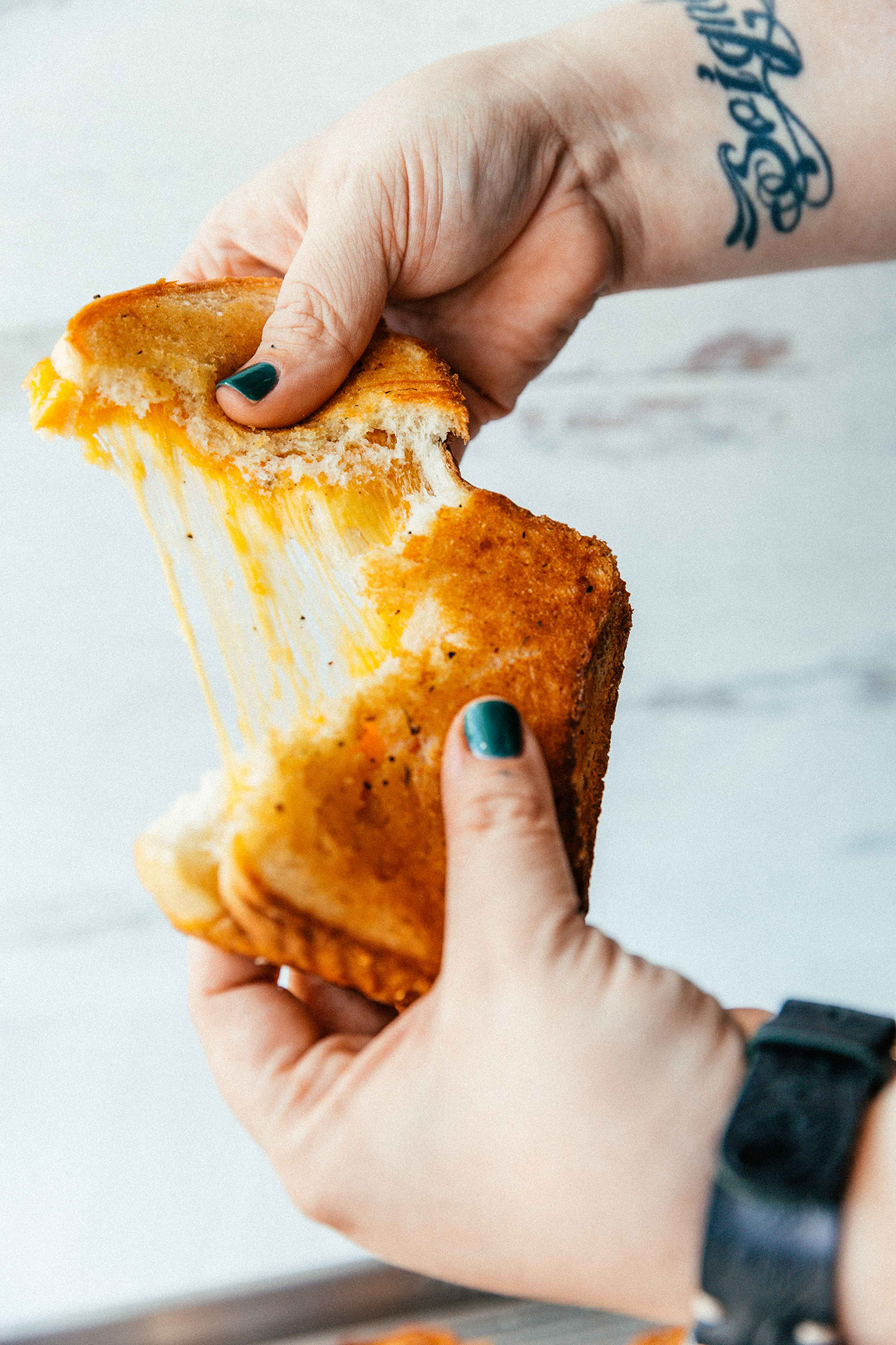 slab grilled cheese